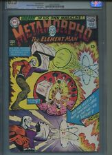 METAMORPHO #1 DC COMICS 7-8/65 CGC 8.5 OW TO WHITE PAGES