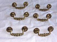 NOS Kwee-Ver Ware Brass Drawer Pull