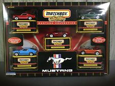 Matchbox Collectibles;) Mustang Collection Includes 5 famous Premiere models!