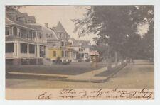 [B68001] 1906 POSTCARD LEICESTER STREET, PORT CHESTER, N. Y.