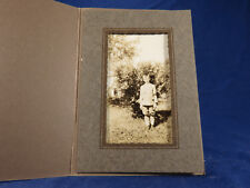 Antique Photo Young Boy Knee Pants Knickers Plaid Socks Black Arm Band