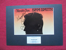 SHAHID KHAN NAUGHTY BOY PERSONALLY SIGNED A3 MOUNTED PHOTO DISPLAY - PHOTO PROOF