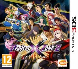 JUEGO 3DS PROJECT X ZONE 2 3DS 6342371