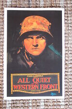 All Quiet on the Western Front  Lobby Card Movie Poster