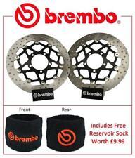 Brembo Front Brake Discs Pair KTM 1090 Adventure / R 17> + Res Sock