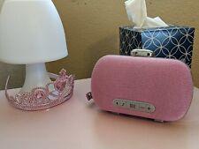 Portable Bluetooth Speaker, Audio Mini Clutch Speaker(Metallic Pink)