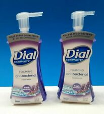 Dial complete foaming ANTI-BAC hand wash soap fresh lavender 7.5 oz. Lot of 2