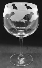 More details for bedlington terrier frieze boxed 70cl glass gin balloon