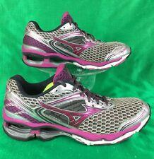 MIZUNO WAVE CREATION 17 silver/purple running shoes . EU42 women's 10.5 / men 9