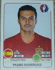 369 Pedro Rodriguez SPAIN Panini Euro 2016 France sticker