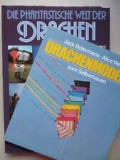 2 Bücher Drachenmodelle zum Selberbauen phantastische Welt der Drachen