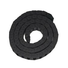 Haobase 10mm x 20mm Black Plastic Towline Semi Closed Drag Chain Cable Carrier 1
