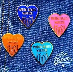 Mental Health Awareness (enamel) pin