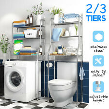 New Storage Rack Over Toilet/Bathroom/Washing Machine Shelf Unit Organize Shelf