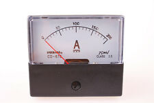 Analog Amp Panel Meter Current Ammeter 670 DC 0-200A