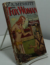 The Fox Woman byA Merritt - Avon # 214
