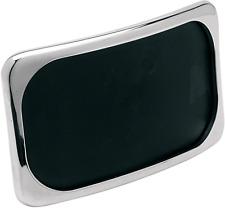 Drag Specialties chrome 3 hole large radius license plate frame Harley Davidson