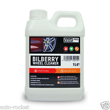 Valet PRO Bilberry Wheel Cleaner 1 Litre Safe for Alloys & Acid Free AUTO-ROCKET