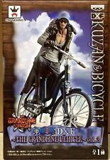 ONE PIECE DXF GRANDLINE VEHICLE Vol. 2 KUZAN & BICYCLE FIGURA FIGURE NEW NUEVA