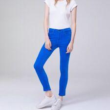 Rag & Bone High Rise Skinny Ankle Pants Jeans Blue Velvet Size 23 $250 FLAW!