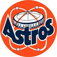 "Houston Astros Retro Vinyl Decal - You Choose Size 2""-28"""