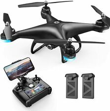 Holy Stone HS110D FPV Drone Wiith 1080P HD Camera 2.4 RC Quadcopter + 2 Batties