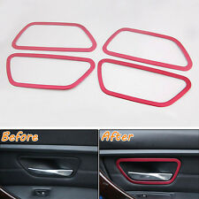 Inside Door Handle Bowl Cover Trim For BMW 3 Series F30 316i 320li 4 Series GT