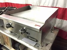 "NEW 24"" GRIDDLE Flat GRILL COMMERCIAL RESTAURANT HEAVY DUTY NAT OR LP GAS"