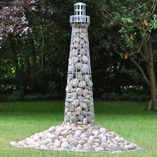 180cm VOSS.garden Premium Lighthouse Galvanized Steel Deco Garden