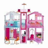 Barbie casa di Malibù 90x60 cm con accessori