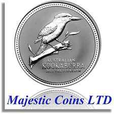 2003 Kookaburra Australian Perth Mint 1 oz .999 Pure Silver Coin