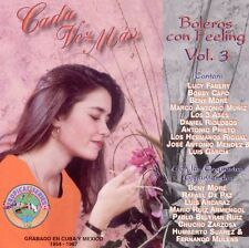 Cada Vez Mas - Boleros Con Feeling, Vol. 3 by Various Artists.CD (1994, RCA)