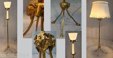 BAGUES  LAMPADAIRE EN BRONZE VERS 1950