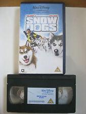 WaltDisney. SNOW DOGS VHS VIDEO. EAN: 5017186115416. Cert.PG. Gooding Jnr,Coburn
