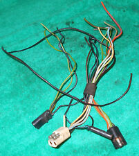 1969 Cougar Hardtop Convert UNDER DASH To TRUNK TAIL LIGHT HARNESS WIRING PLUGS