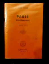 CATALOGUE OBLITERATIONS DE PARIS 1849-1876 ♦ édition JEAN POTHION