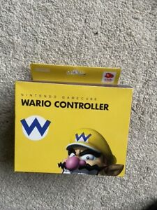 Super Rare Club Nintendo Limited GameCube Controller Wario New Boxed