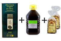 Vino Rosso Primitivo Salento Con Olio Extravergine Di Oliva 100%Puglia e Taralli