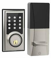 Turbolock TL201 Electronic Keypad Deadbolt Keyless Door Lock w/Code Disguise