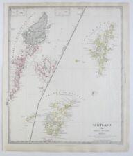 Antique European Maps & Atlases Scotland 1800-1899 Date Range
