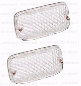 Mercedes Benz 300TD 79-85 W123 Back Up / Reverse Rear Light Lens Set of 2 OEM