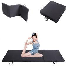 Klappbare Turnmatte Gymnastikmatte Bodenmatte Fitnessmatte Yogamatte 180x60x5cm