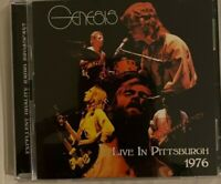 "GENESIS: ""Live In Pittsburgh 1976""  (RARE CD)"