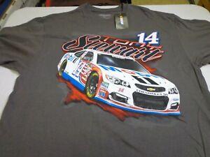 Tony Stewart #14 Nascar Mobil 1 T-Shirt -Stewart Haas Racing  XL  NEW  J7