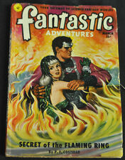 Fantastic Adventures Vol 13 #3 Vg-Fine Secret Of The Flaming Ring P.S Costello