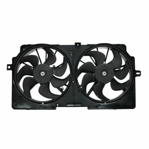 Radiator Cooling Dual Fan Assembly for Pontiac Grand Prix Buick Century