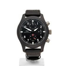 IWC PILOT'S CHRONOGRAPH TOP GUN CERAMIC WATCH IW388007 46MM COM1250