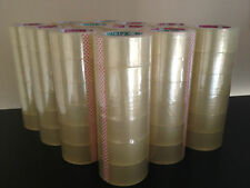 "108 ROLLS CLEAR PACKING SEALING PACKAGING TAPE 2""X330'"