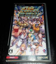 PSP Capcom Classics Collection with great SHMUP 1942 - 1943 - Vulcus etc. JAPAN