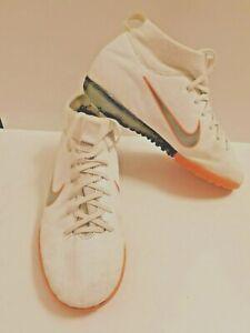 Nike Mercurial X Superfly VI Academy Astroturf Trainers White Orange UK Size 5